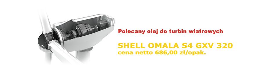 Shell Omala S4 GXV 320 opak. 20L