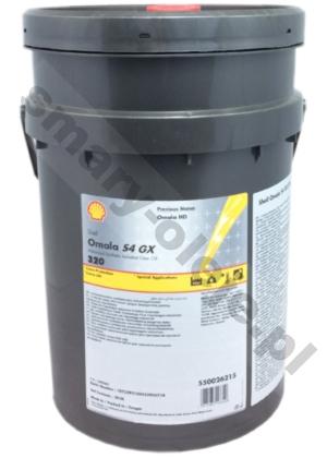 Shell Omala S4 GX 320 (Omala HD 320) opak. 20 L