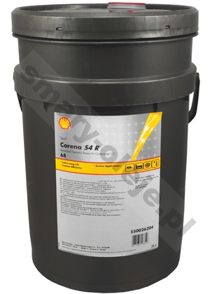 Shell Corena S4 R 68 (Corena AS 68) opak. 20 L
